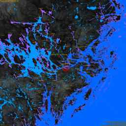 Solna, with labels, SLR +7.2 m